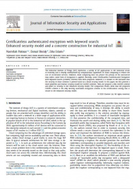Certificateless authenticated encryption with keyword search: Enhanced security model and a concrete construction for industrial IoT