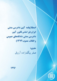 Iranian Civil Procedure Thesaurus (according to civil procedure of General and Revolutionary Courts Act 2000)